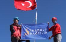 Anadolu Dağcılık Erciyes Dağı zirve tırmanışını gerçekleştirdi.