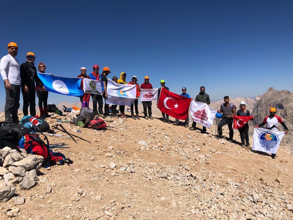 MEDADİK 30 Ağustos Zafer Tırmanışını başarıyla tamamladı.