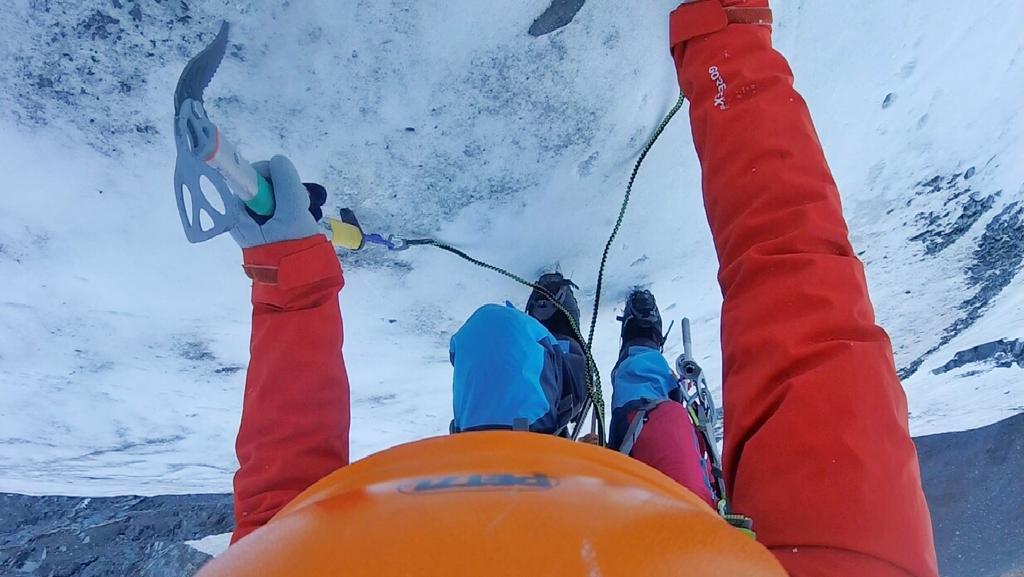Kaçkar Dağı Büyük Buzul Tırmanışı Gerçekleştirdi