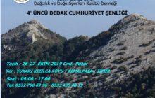 DEDAK 4. Cumhuriyet Şenliği Mahmut Dağı Zirve Tırmanışı Daveti