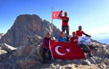 PRODOSS Küçük Demirkazık Dağı tırmanışını gerçekleştirdi.