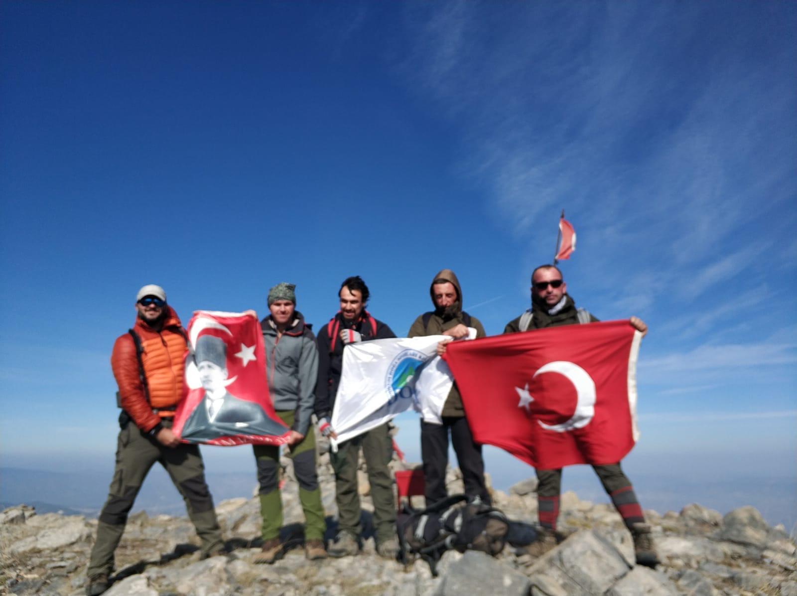 Bodrum Doğa Sporları Kulübü 10 Kasım Tırmanışı