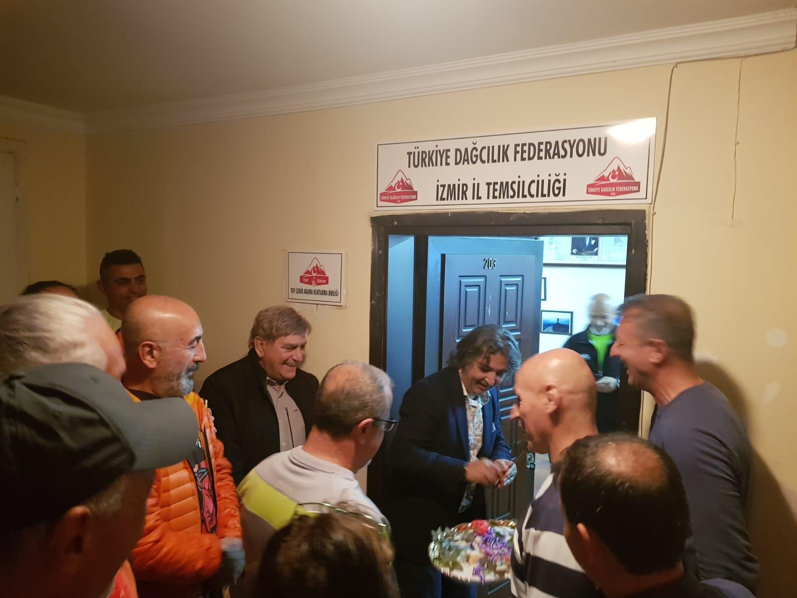 TDF İzmir İl Temsilciliği Çalışma Ofisi açılışı gerçekleştirildi.
