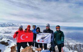 Erek Dağı Tırmanışı