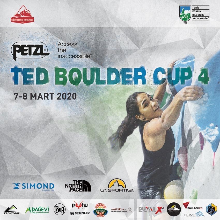 PETZL TEDBoulderCup 4 Yarışması