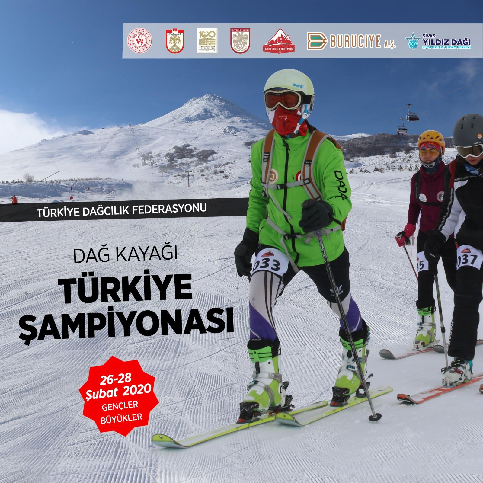 Dağ Kayağı Gençler-Büyükler Türkiye Şampiyonası – Sivas Katılımcı Listesi