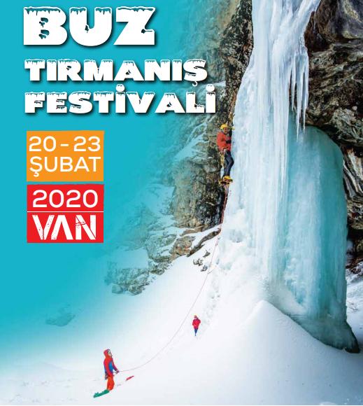 Van Erek Dağı Buz Tırmanış Festivali