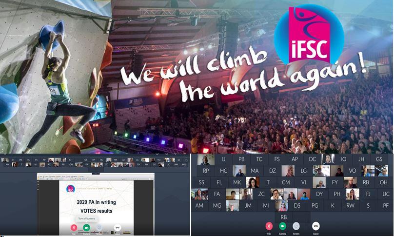 IFSC 2021 Genel Kurulu Videokonferans Yöntemiyle Yapıldı