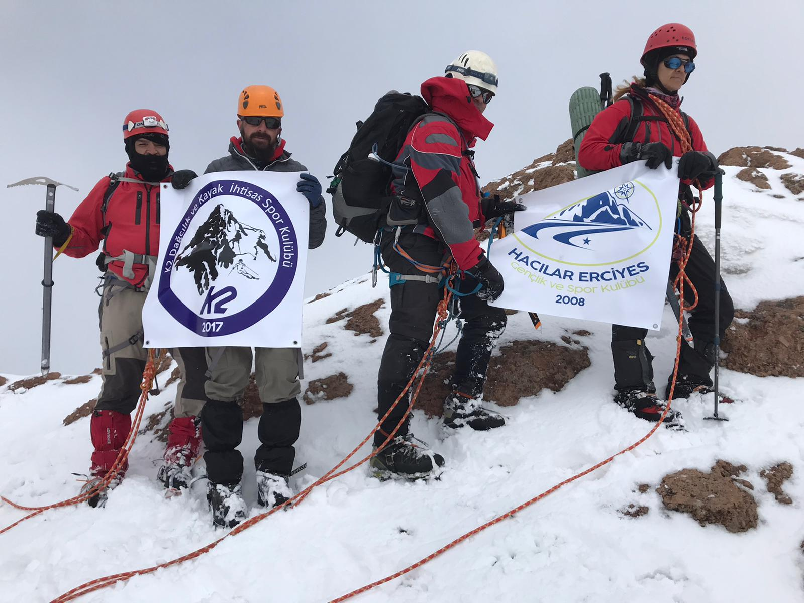 Geleneksel Erciyes Dağı Buzul Tırmanışı