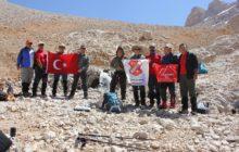 Aladağlar Trans Faaliyeti Aksaray'lı dağcılar tarafından gerçekleştirildi.
