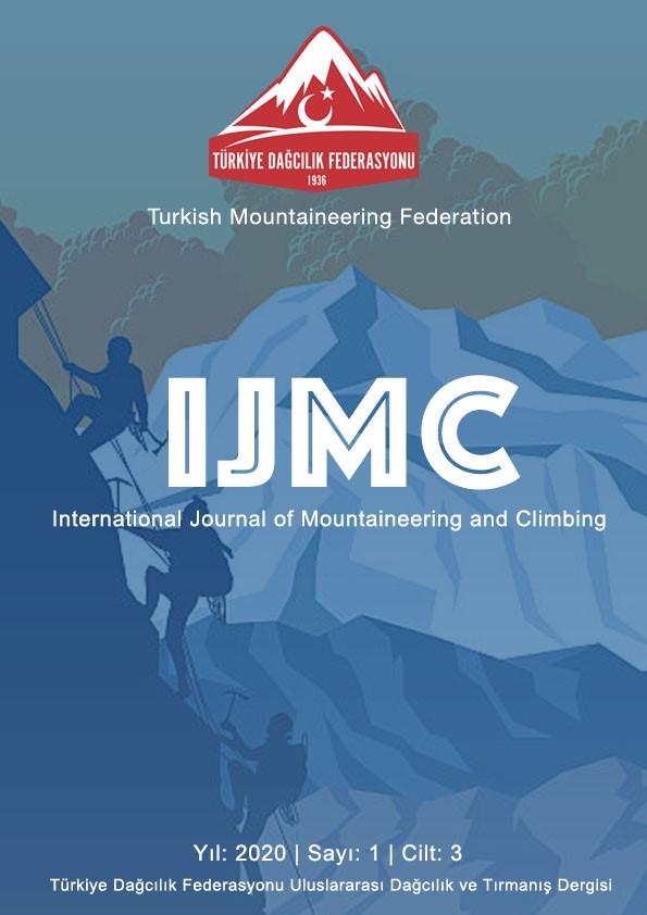 Uluslararası Dağcılık ve Tırmanış Dergisi'nin Yeni Sayısı Yayımlandı