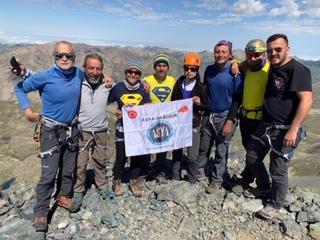 Asya Dağcılık Kaçkarlarda tırmanışlar gerçekleştirdi.