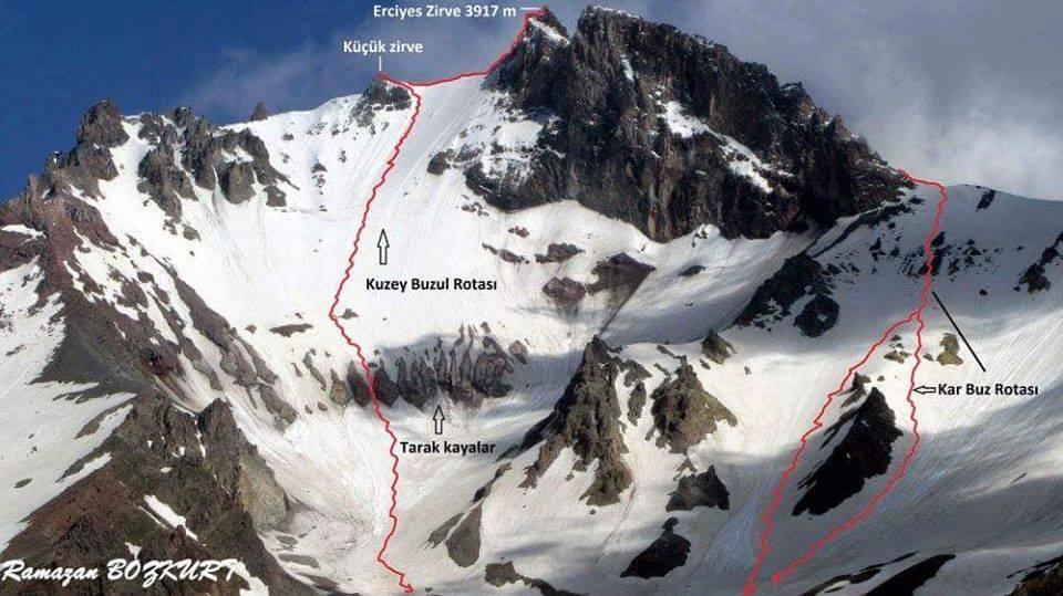 26. HADAK Erciyes Sütdonduran Kuzey Zirve Tırmanışı Daveti