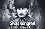 4 Eylül Sivas Kongresi 101. Yıl Dönümü Etkinlikleri