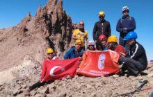 30 Ağustos Erciyes Dağı Zafer Tırmanışı
