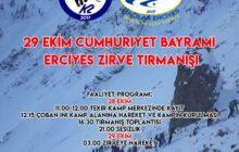 Cumhuriyet Bayramı Erciyes Tırmanışı