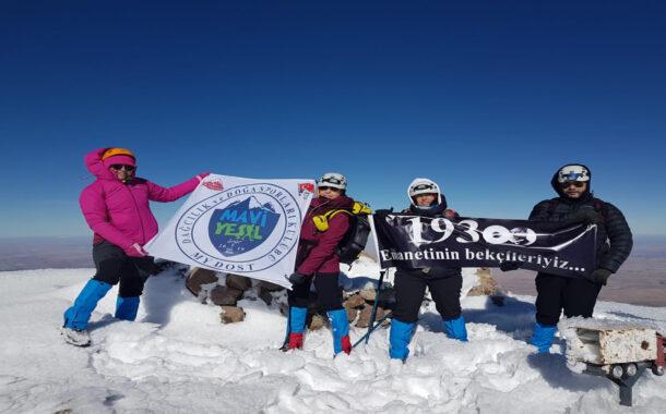Hasan Dağı Ata'yı Anma Tırmanışı