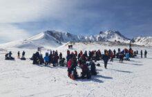 Hacılar Erciyes GSK Erciyes Dağı kış zirve tırmanışı gerçekleştirdi.