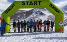 Türkiye Dağ Kayağı Şampiyonası 2021 Trabzon'da Tamamlandı