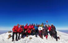 Asya Dağcılık Hasan Dağı kış tırmanışını gerçekleştirdi.