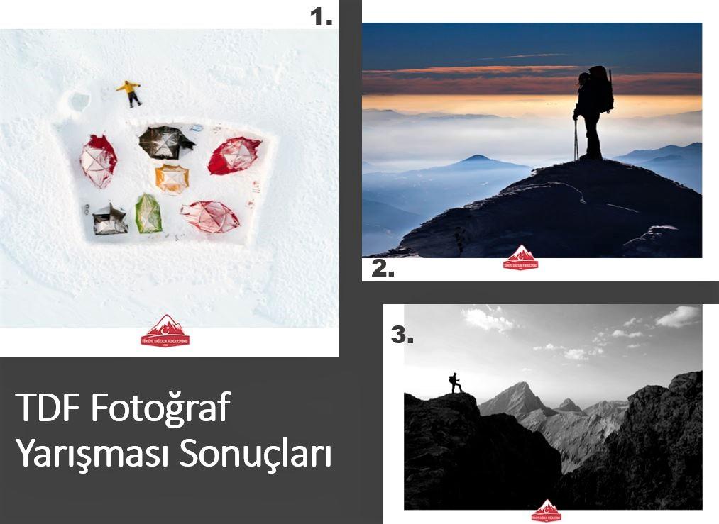 Dağcılık Temalı Fotoğraf Yarışması Ödül Töreni Çevrimiçi Yapıldı