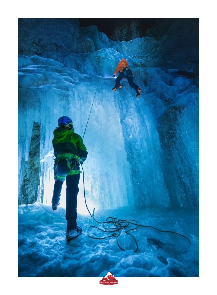 Buz Tırmanış Gelişim Eğitim Başvuruları