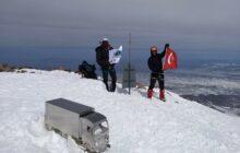 İstanbul Doğa Sporları Hasandağı kış tırmanışını gerçekleştirdi.