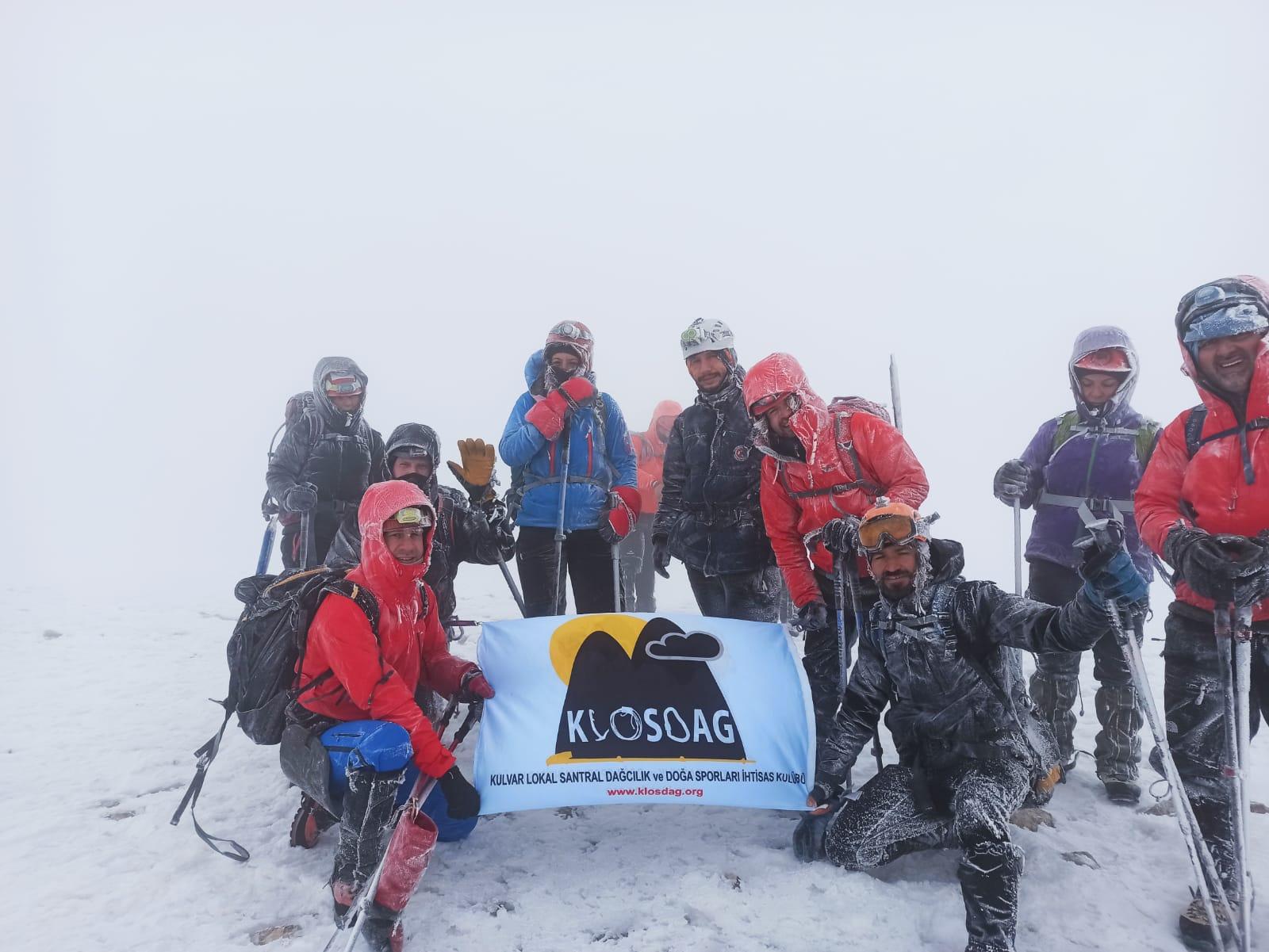 Klos Dağcılık Ilgaz Dağı tırmanışını gerçekleştirdi.