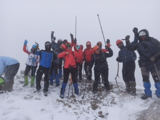 KLOSDAG ve YUDOSK Ilgaz Dağı tırmanışı gerçekleştirmiştir.