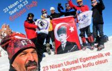 23 Nisan Erciyes Tırmanışı